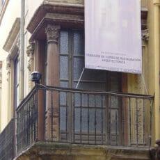 """C/ Ballesteros nº4 (""""Palacio de los Condes de Castillejo"""") in Granada (Spain)"""